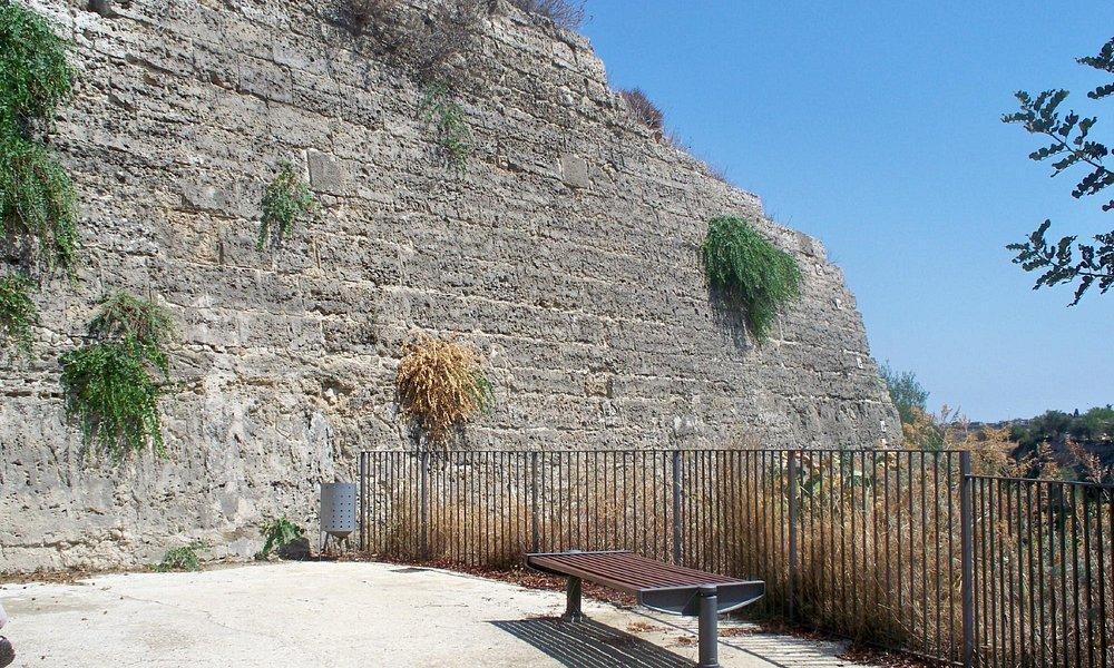 Il muro di sud-ovest