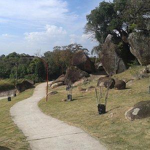Jardim e passeio
