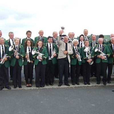 Award Winning Appledore Band Celebrate Competiton Win