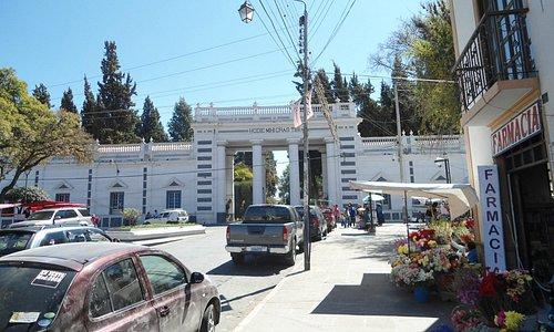Front Gates of Cementario General de Sucre
