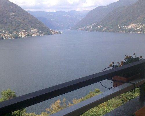 Panoramica sul lago dalla terrazza del bar