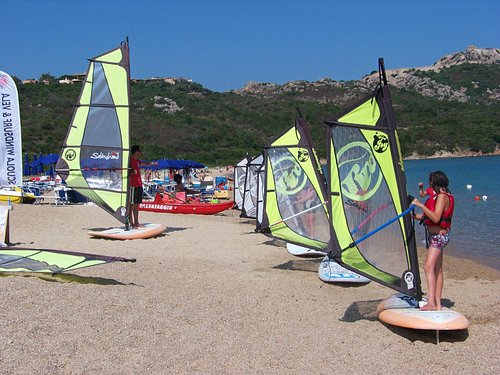windsurfing courses with kids