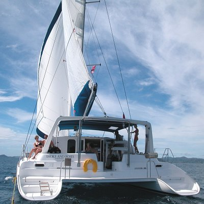 Smoke and Roses Catamaran