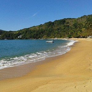 A bela Praia de Palmas