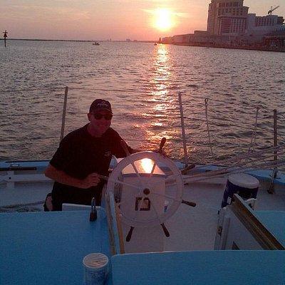 Sailing the Biloxi Schooner
