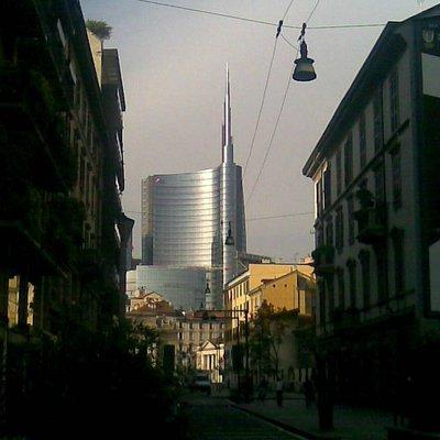corso Garibaldi e nuovi grattacieli