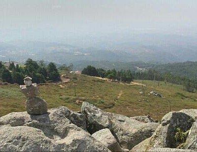 Foia Monchique 902 m. Highest peak of the Algarve
