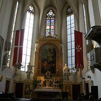 The nave and altar.
