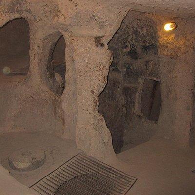 Casa della cità sotterranea