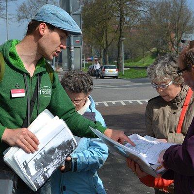Battlefield Tour in the city of Groningen