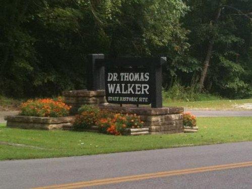 Dr. Walker's state historical site