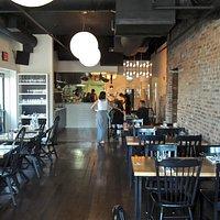 Main Dining Area & Kitchen