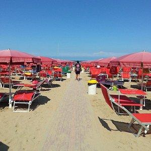 spiaggia alle h.14