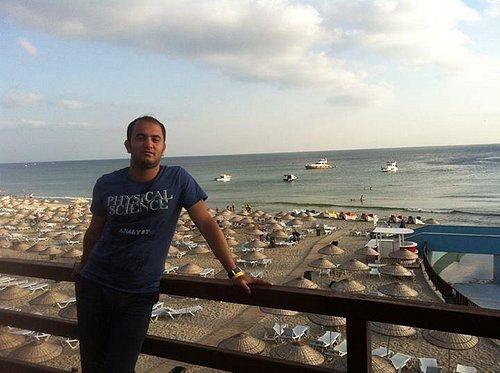 Florya Beach view