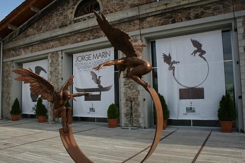 Modern art everywhere...