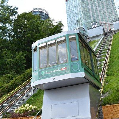 The new Falls Incline Railway