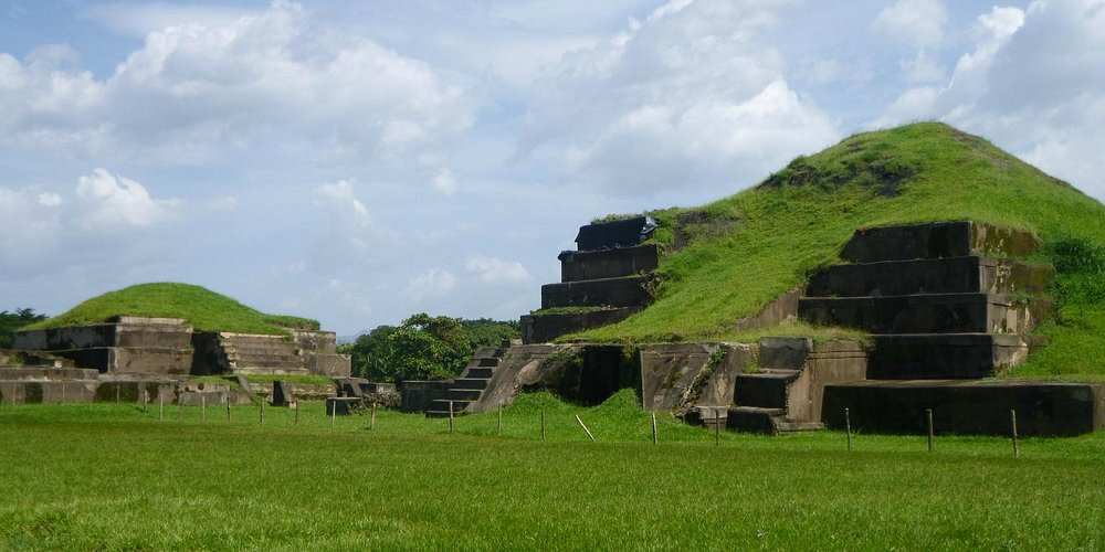 vista de la pirámide