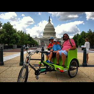 Rest your feet - relax on the seat - beat the heat - ride a pedicab!