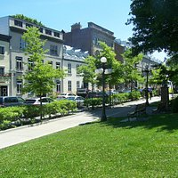 Parc de l'Esplanade, rue d'Auteuil
