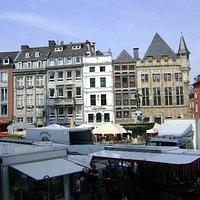 Plaza Markt, Aachen, Alemania.