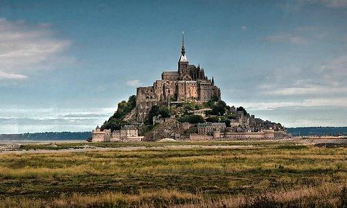 Mont Saint Michel Abbey.