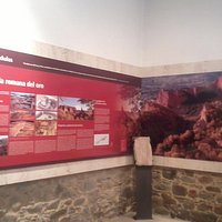 Sala sobre la industria minera y las Médulas