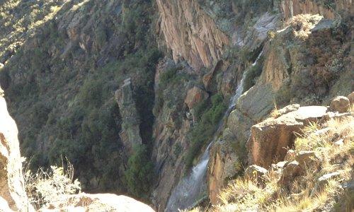El nacimiento del Río Mina Clavero. Camino Nuevo