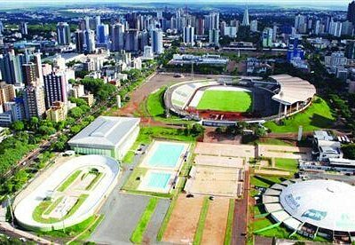 complexo ao redor do estádio