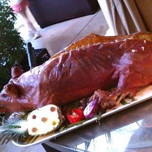 Wantilan Luau roast pig
