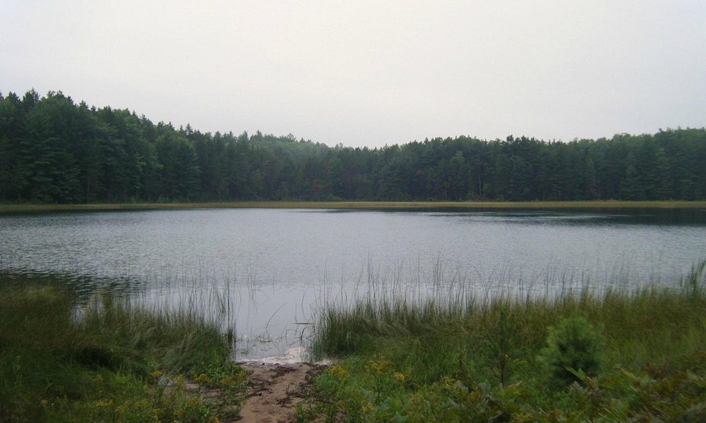 Many isolated lakes in the area that are pristine and fun to kayak