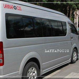 Van rental in Chiangmai with English speaking driver service : รถตู้เช่าเชียงใหม่