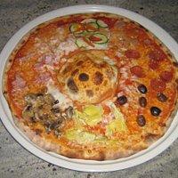 Pizza Top Line...con calzone centrale