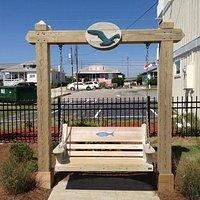 Bench in Ocean Front Park