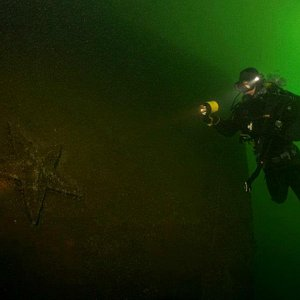 The best diving in russian Baltic sea