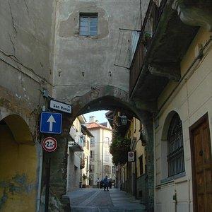 arco in pieno centro storico