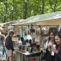 Haagse markt aan het Lange Voorhout