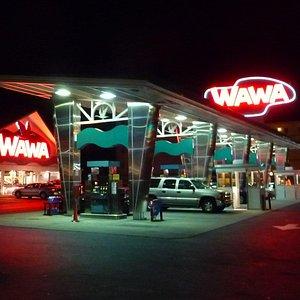 Wawa is gas station/convenience