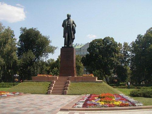 Shevchenko statue