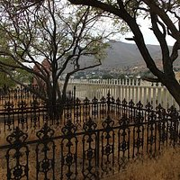 Virginia City view from cementary