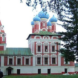 Exterior of St. Demetrios on the Blood in Uglich