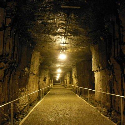 Head underground...