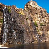 Twin Falls in August