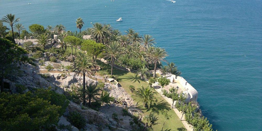 vista giardino del castello
