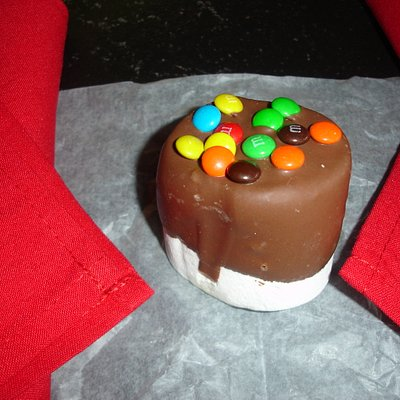 Chocolate Covered Marshmellow - was delicious!