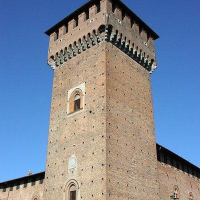Torre maestra del castello Bolognini di Sant'Angelo Lodigiano