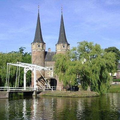 Oostpoort, Delft, Holanda.