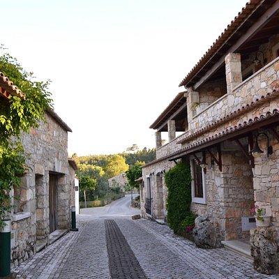 A aldeia de pedra