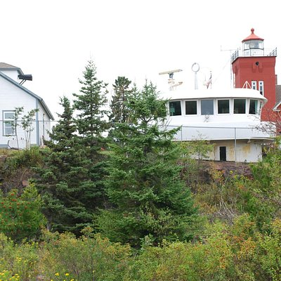 Lighthouse Museum, Frontenac pilot house & Lighthouse, Two Harbors, MN