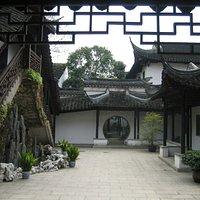 Suzhou Art and Crafts Museum - an internal courtyard