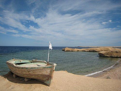 A wonderful beach in Hurghada